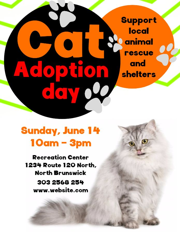 Pet Adoption Flyer Template Or Social Media Post Adoption Adoption Day Losing A Pet