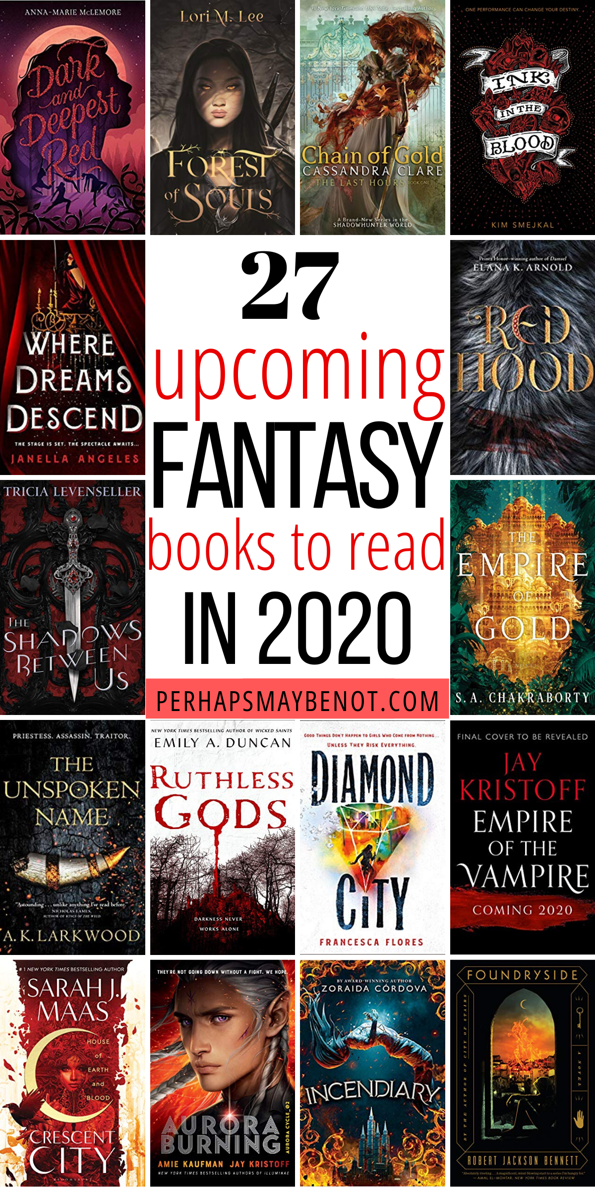 27 Highly Anticipated Fantasy Books of 2020