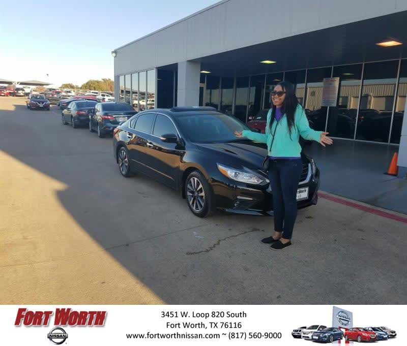 Congratulations Shelby On Your #Nissan #Altima From Gavin Samples At Fort  Worth Nissan!