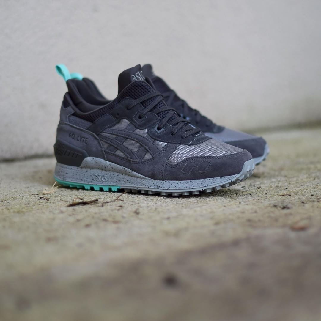 finest selection 76910 87d91 Asics Gel Lyte III MT: Grey/Mint | kicks | Asics gel lyte ...