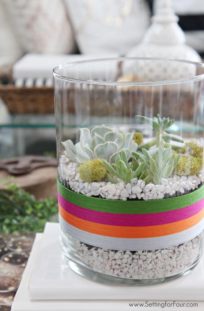 Perfect DIY Succulent Terrarium