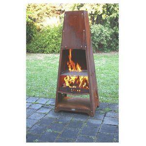 Delightful Patio O Joe Outdoor Fire Tower U0026 BBQ