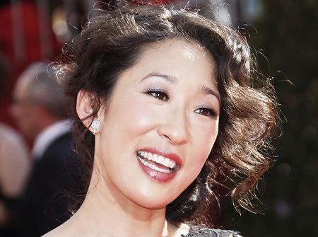 One of the most beautiful, self-aware, genuine human beings ever; Sandra Oh.