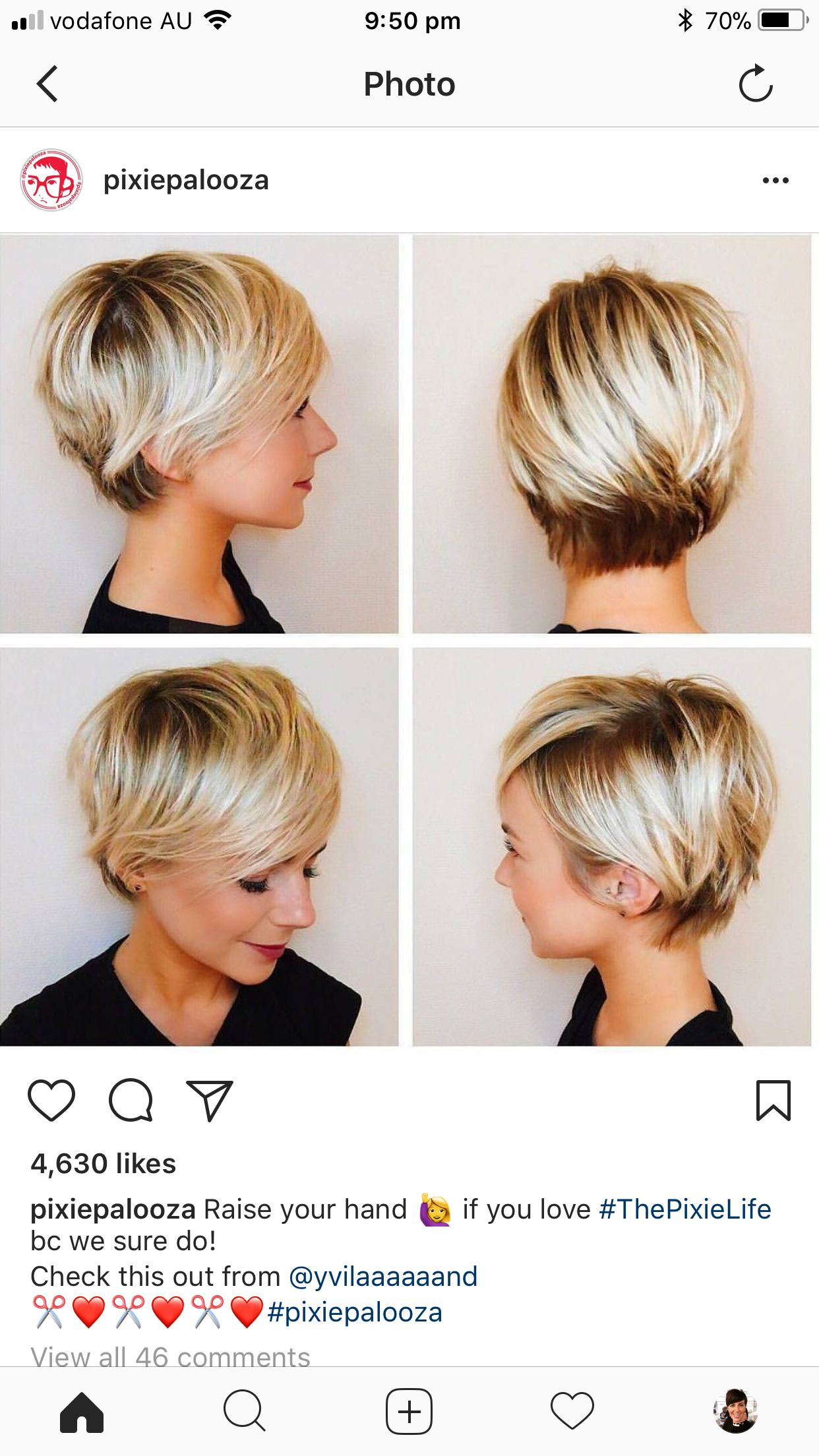 Pin by miriane lima on cabelo pinterest short bobs hair cuts