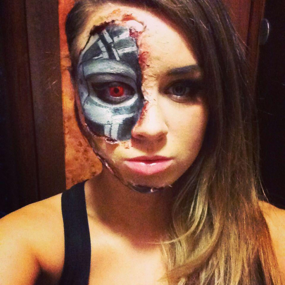 Terminator Makeup, Amazing