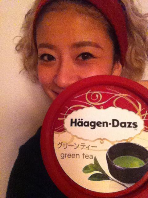 Häagen-Dazs♡-green tea-