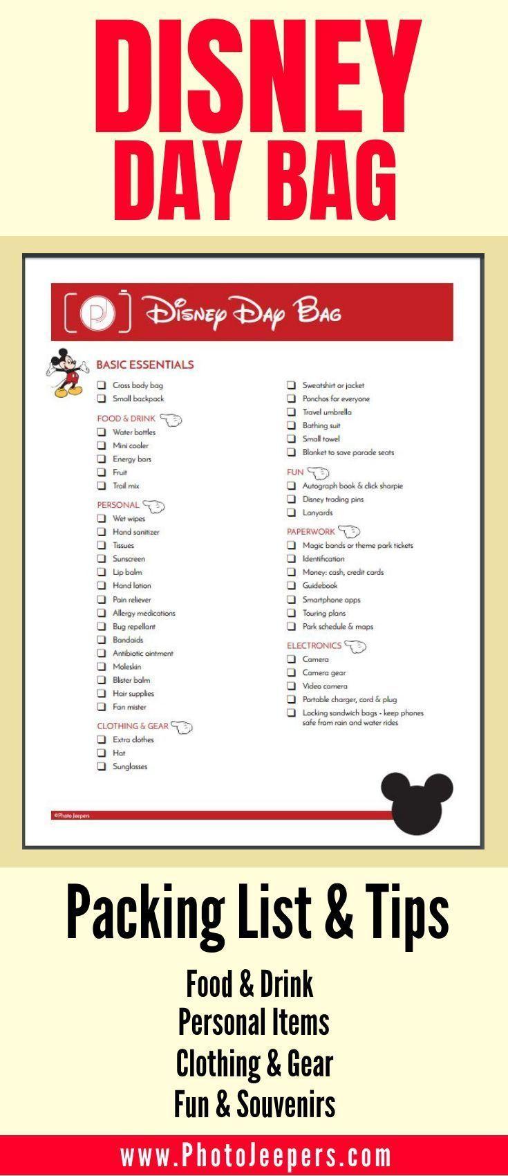 Photo of Disney Packing List: Was Sie in den Park mitnehmen sollten