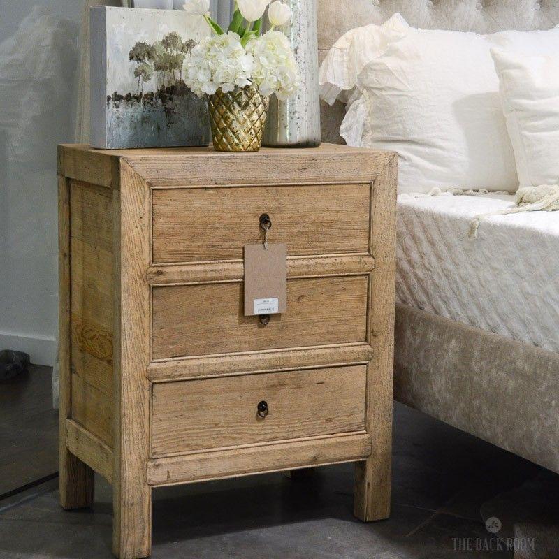 reclaimed wood nightstand. Reclaimed Wood Nightstand N