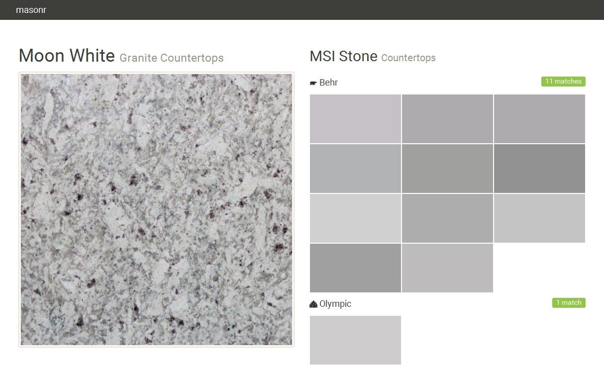 Tile Msi Stone White Granite Countertops Moon White Granite Grey Granite Countertops