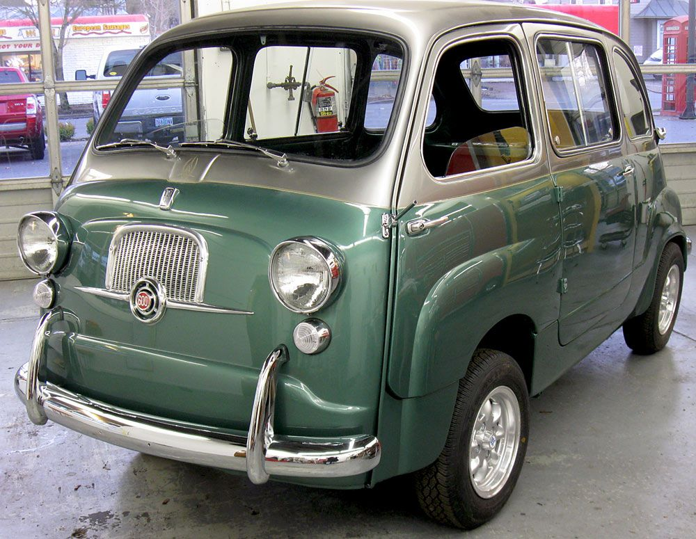 1959 fiat 600 multipla mini and micro cars pinterest. Black Bedroom Furniture Sets. Home Design Ideas