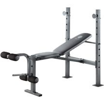 Gold S Gym Xr 6 1 Multi Position Weight Bench With Leg Developer Walmart Com Weight Benches Golds Gym Gym