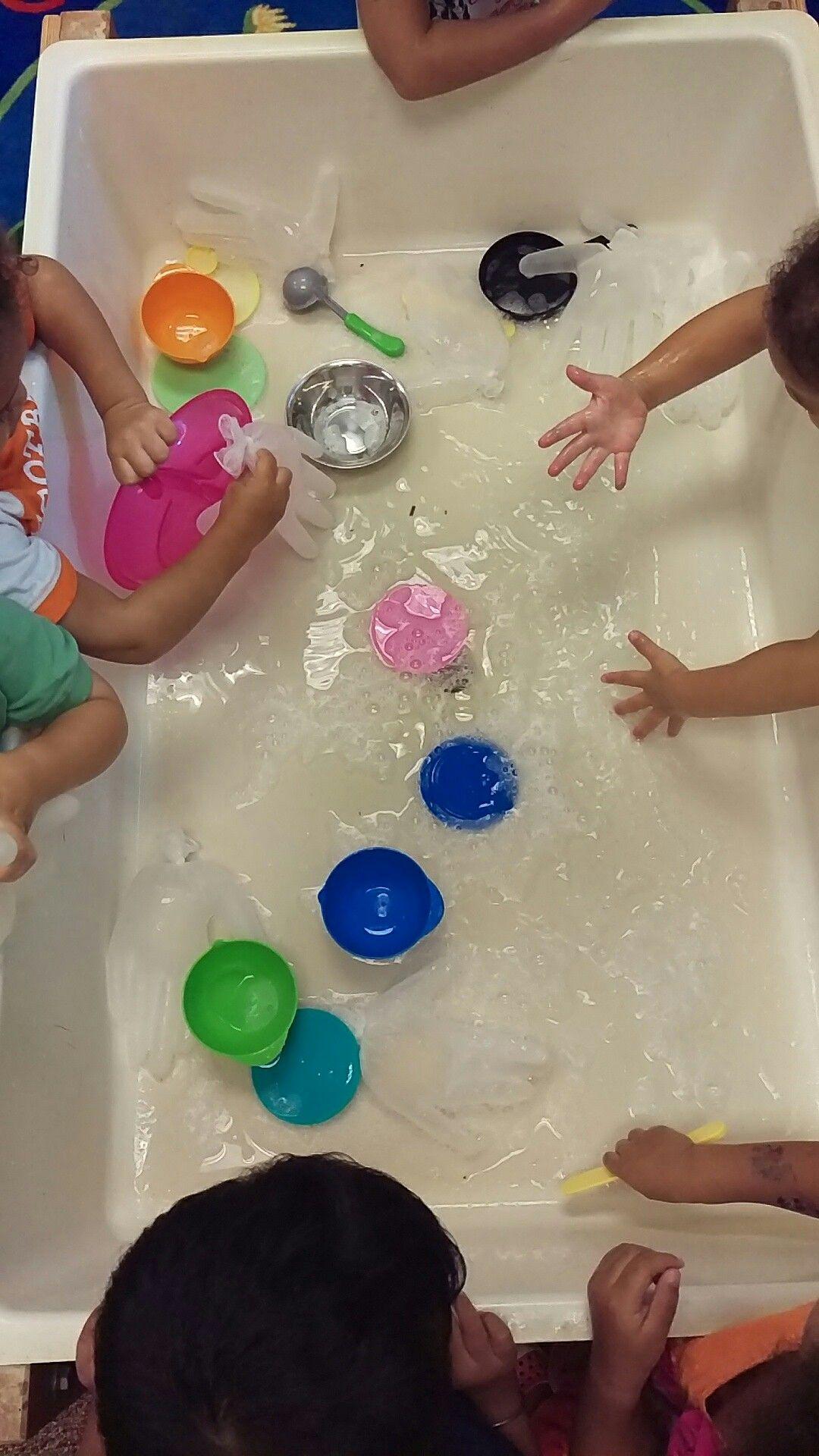 Germs Hygiene Washing Hands Preschool Sensory Table We