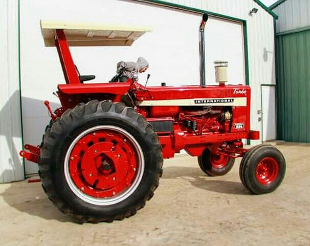 Ih 1256 International Harvester Tractors Farmall Tractors Farmall