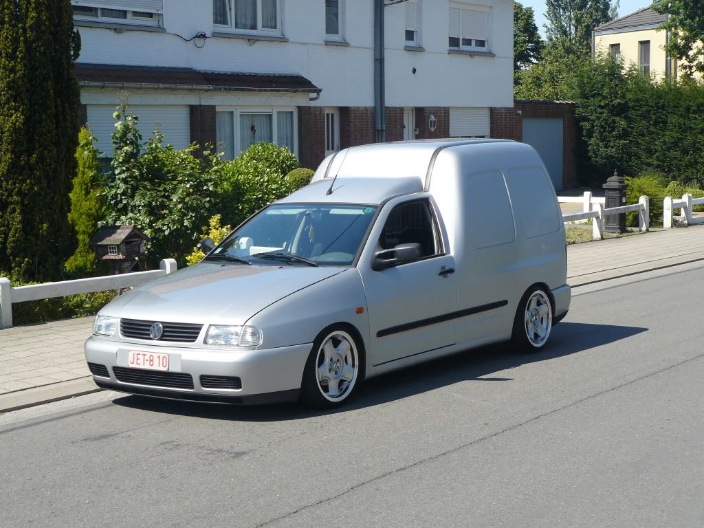 vw caddy mk2 on schmidt modern line wheels vw caddy mk2. Black Bedroom Furniture Sets. Home Design Ideas
