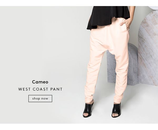 Cameo // West Coast Pant