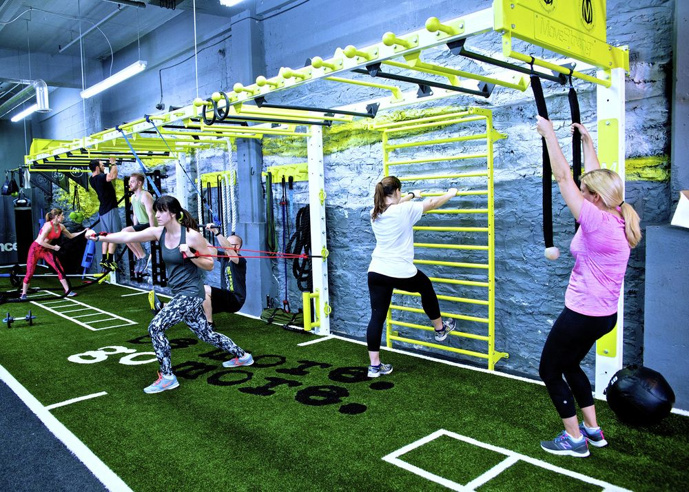 New Space Efficient Nova Fts Wall Bridge Movestrong Gym Design Functional Training Gym Gym Interior