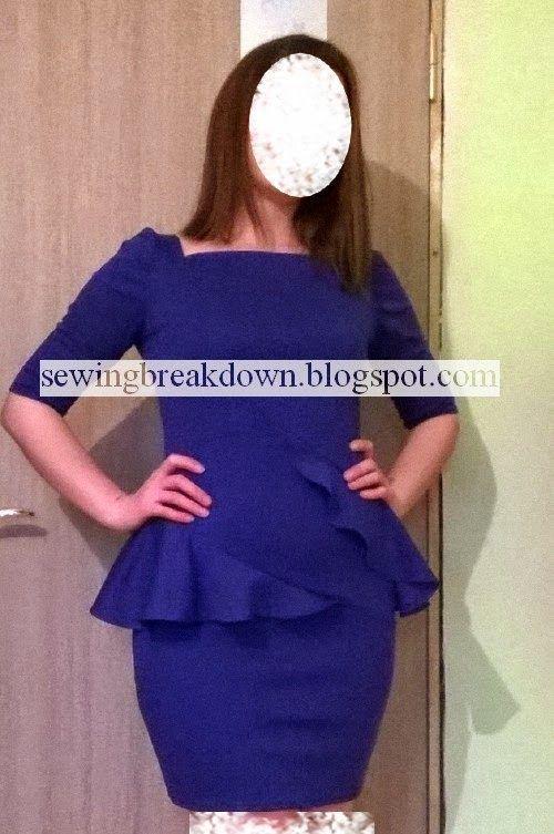 خياطة و تفصيل خطوات خياطة فستان قصير بالصور Dress Picture Dresses Fashion