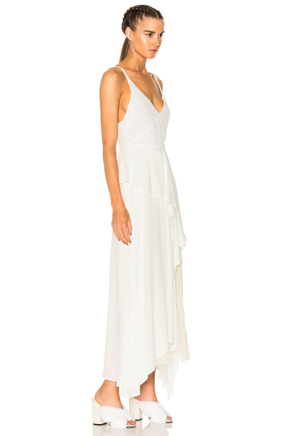 Image 2 of rachel comey catch dress in white white dress