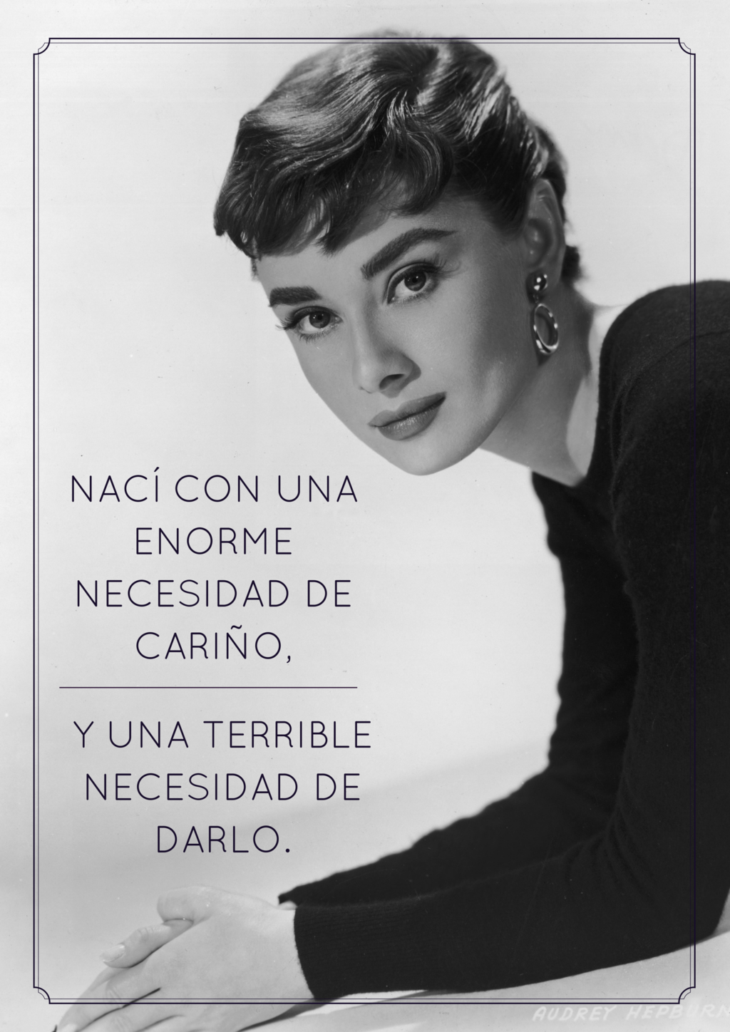 Audrey Hepburn, Coco Chanel and Marilyn Monroe on what it means to be a real woman