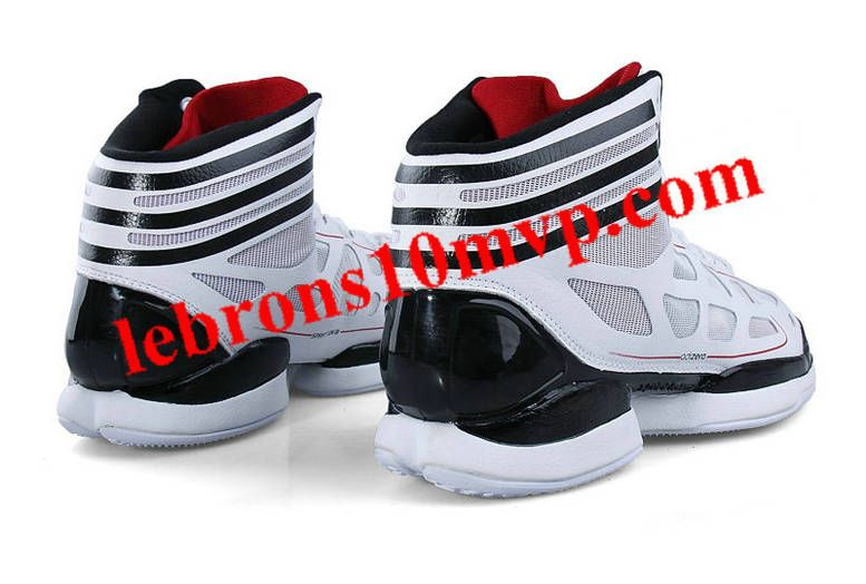 ef75321d5ec2 Adidas Adizero Crazy Light White Black - Derrick Rose Shoes ...