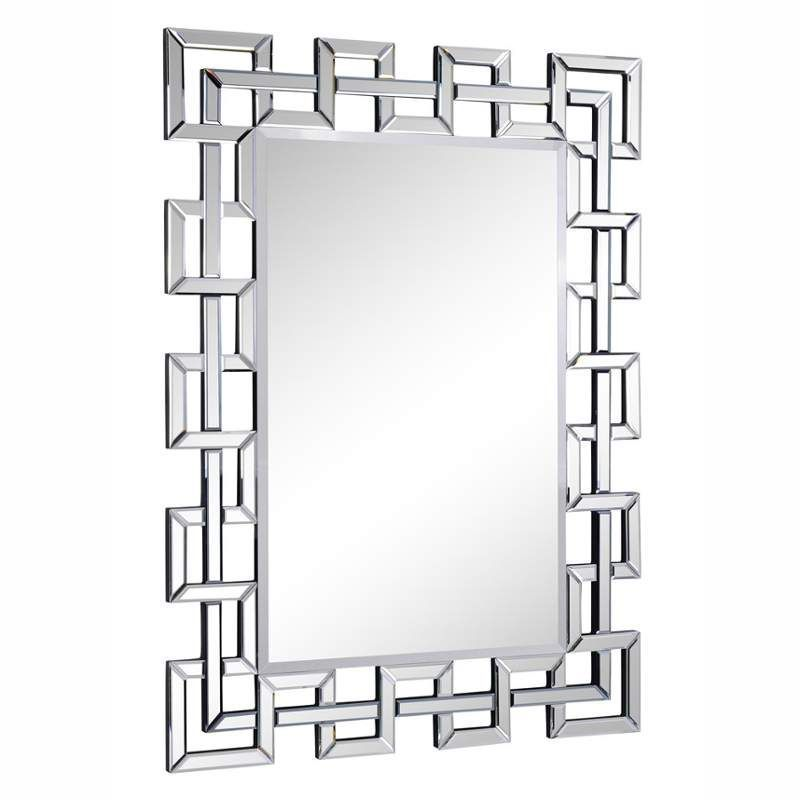 Elegant Lighting Mr 3348 48 Wide Mirror From The Modern Collection Clear Home