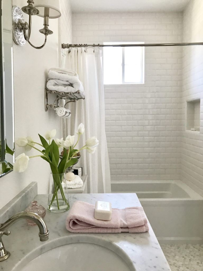 Love All The Finishes And Ideas In This Bathroom