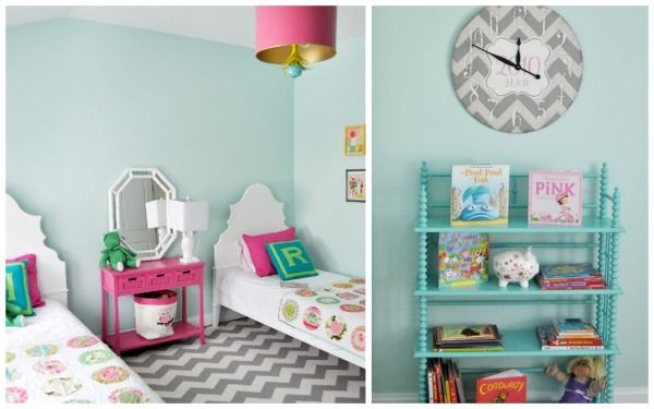 Loving The Colors In This Super Cute Twin Girls Bedroom :) For Averyu0027s Room!