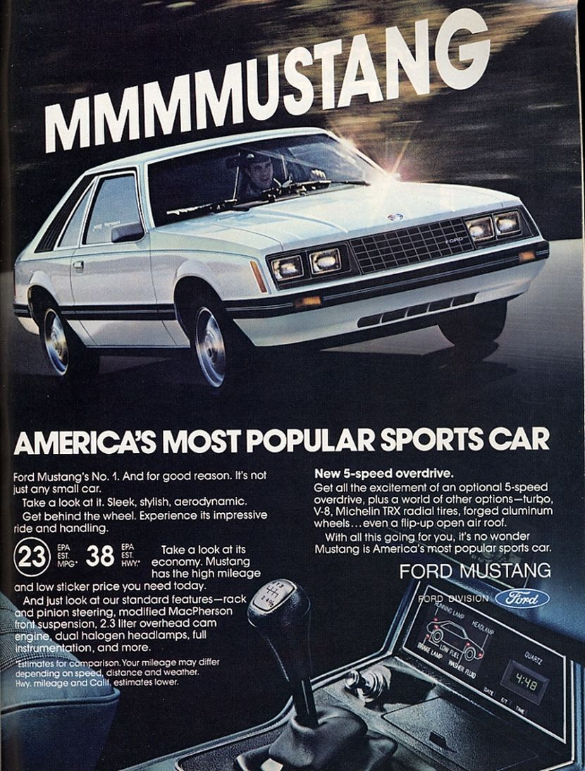 1980 Ford Mustang Ad 01