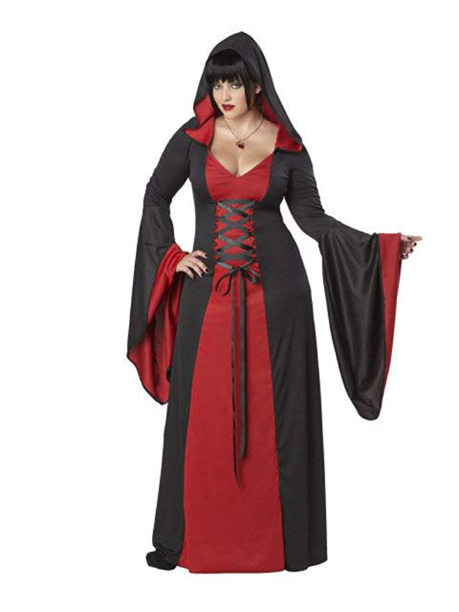 California Costumes Women's Size Deluxe Hooded