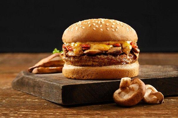 Burger Shiva Shiitake é opção vegetariana pra amantes do sanduíche