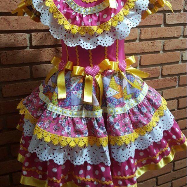 Vestido Festa Junina Copa