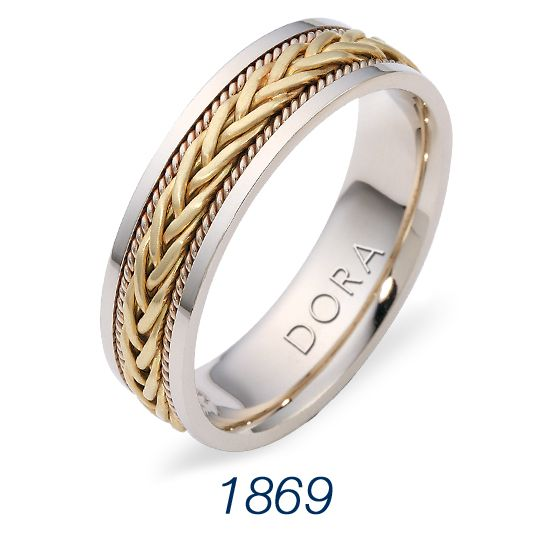 Classic Braided Design From Dora Wedding Bands Custom Engagement