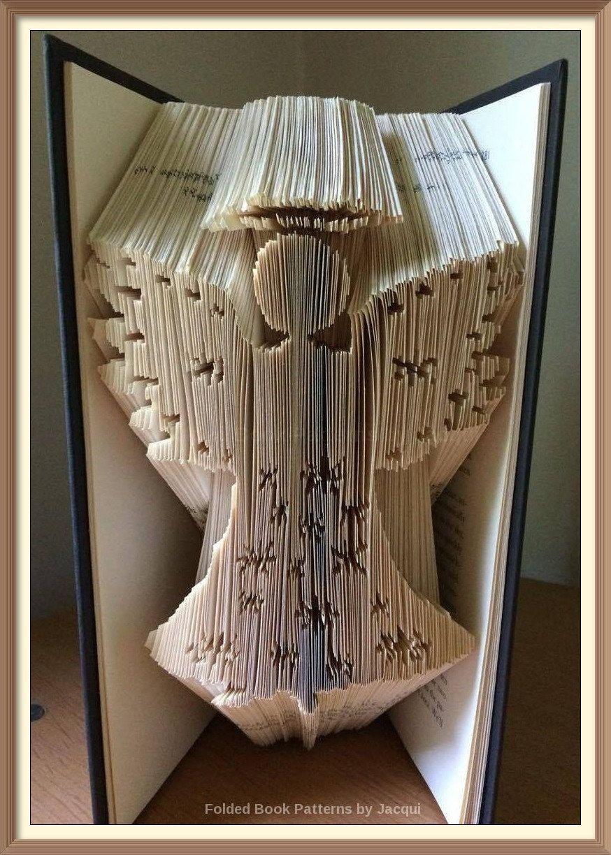 439 angel book folding pattern book folding patterns