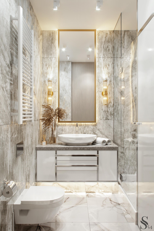 Grey Bathroom A Few Ideas Grey Master Bathroom Suggestions Grey Master Bathroom Bathroom In 2020 With Images Bathroom Interior Bathroom Interior Design Bathroom Design Luxury