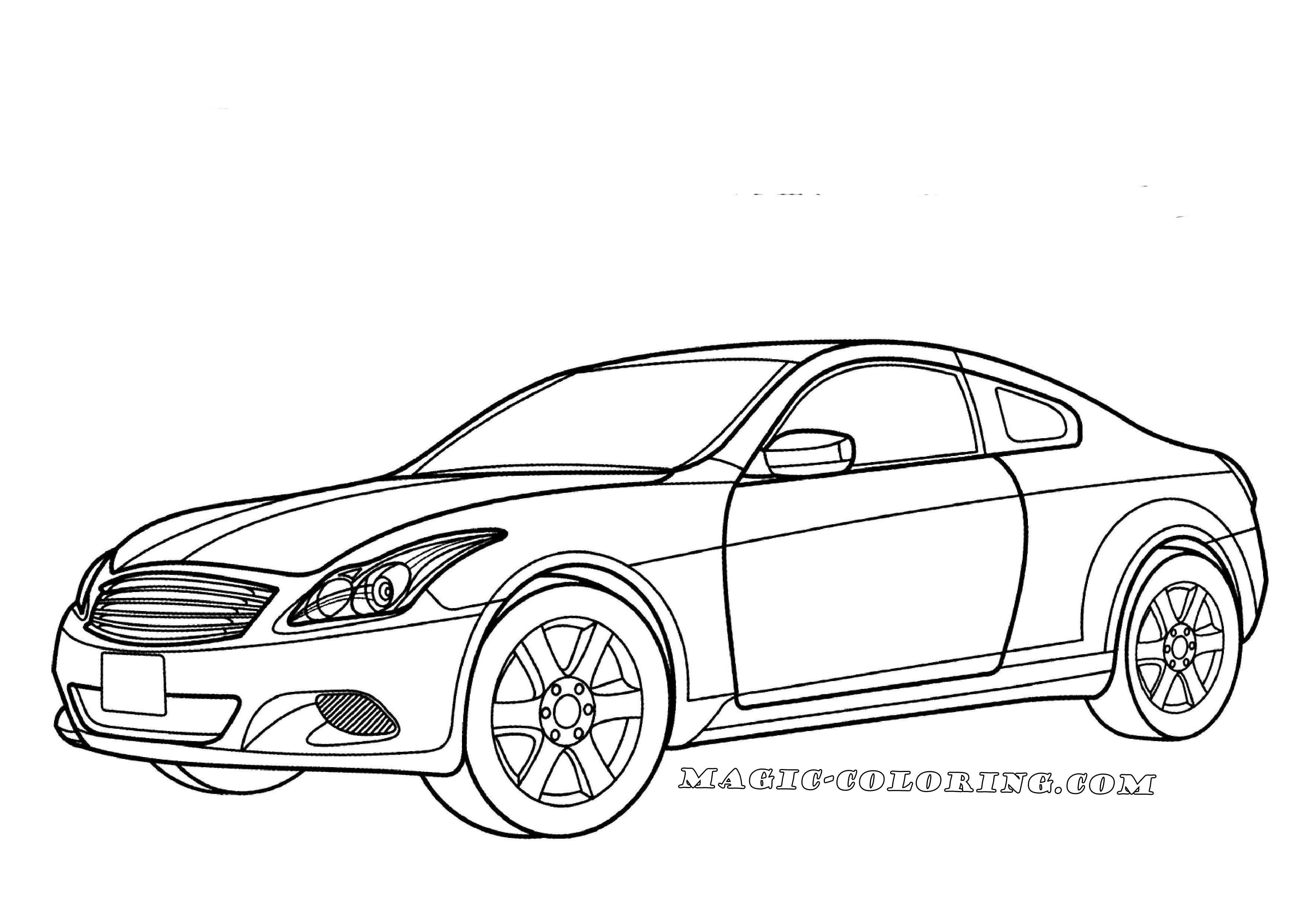 Nissan Skyline Coloring Page Cars Coloring Pages Coloring Pages Free Coloring Pages