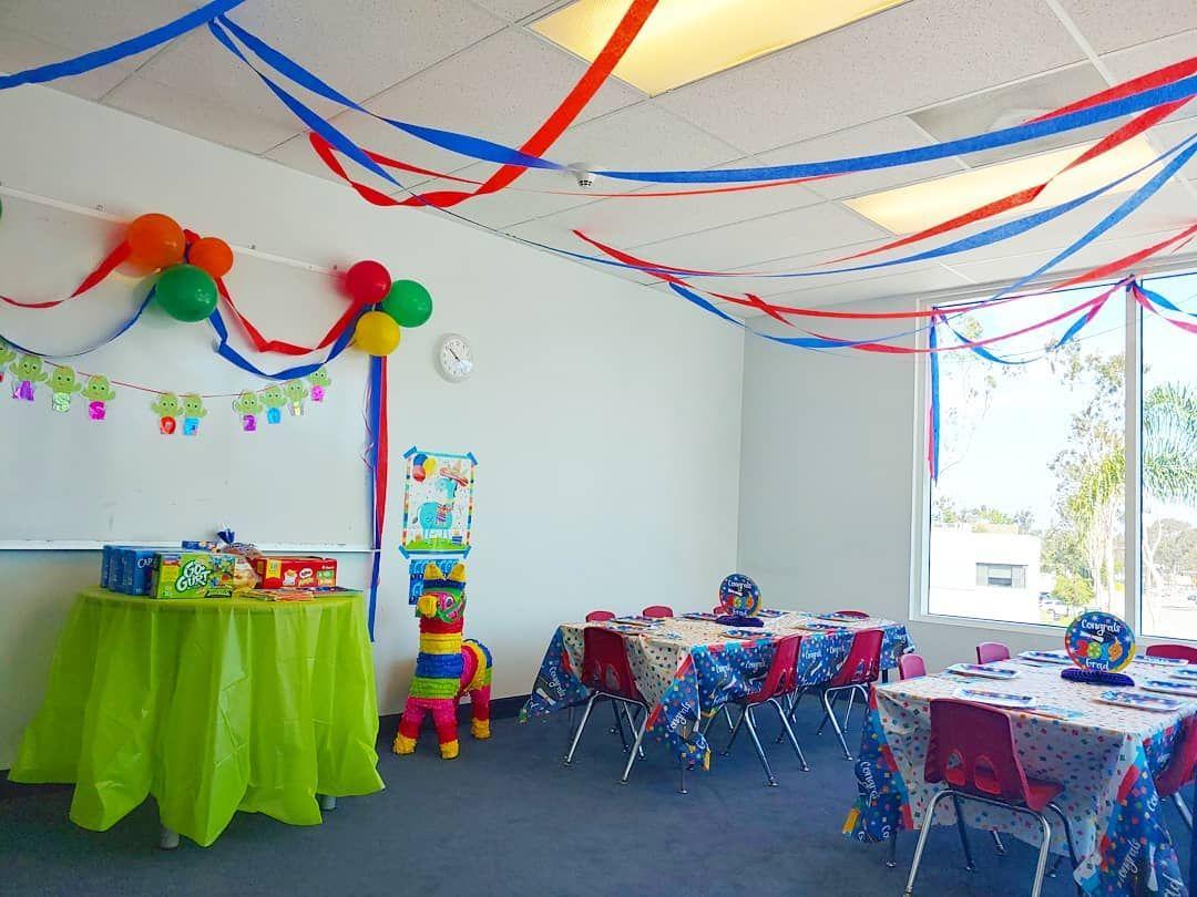 Como hacer una fiesta en el salón de clases  Ideas para decorar