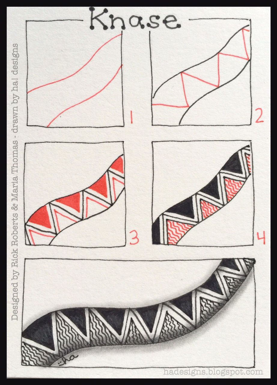 Zentangle Patterns Step By Step Holly atwaters step out | JKL
