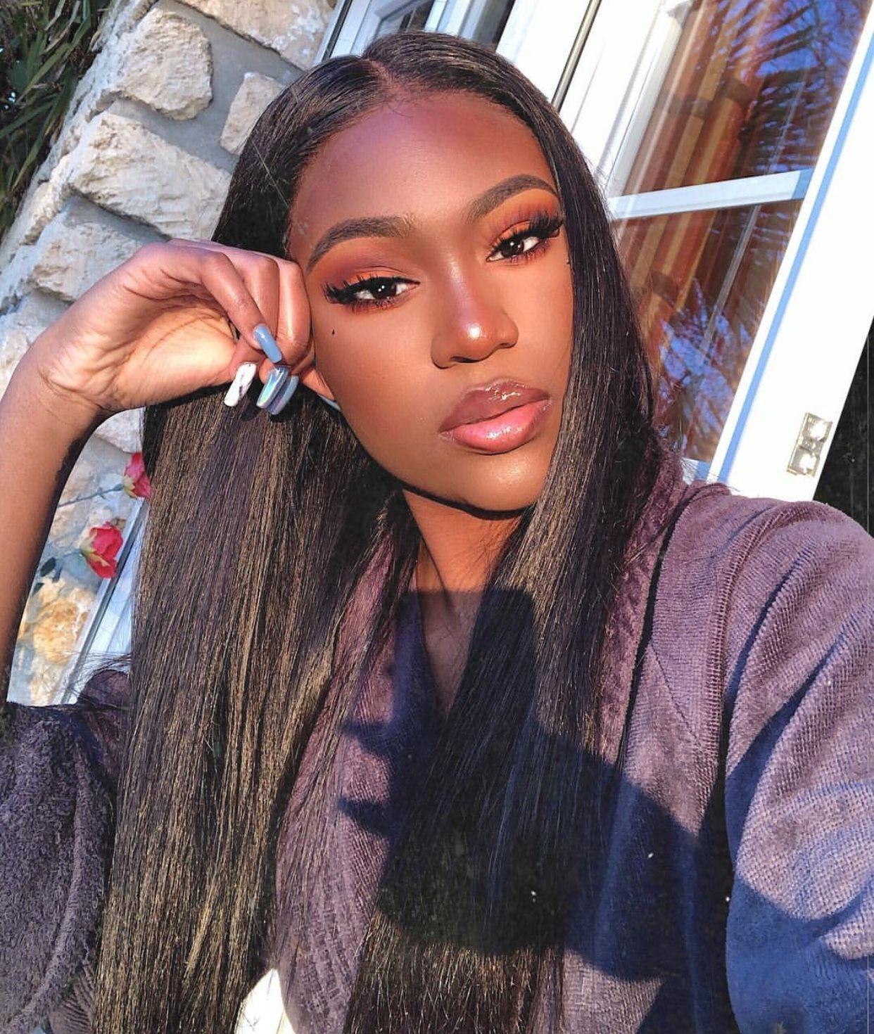 rebeccarih on IG Makeup for black skin, Makeup for