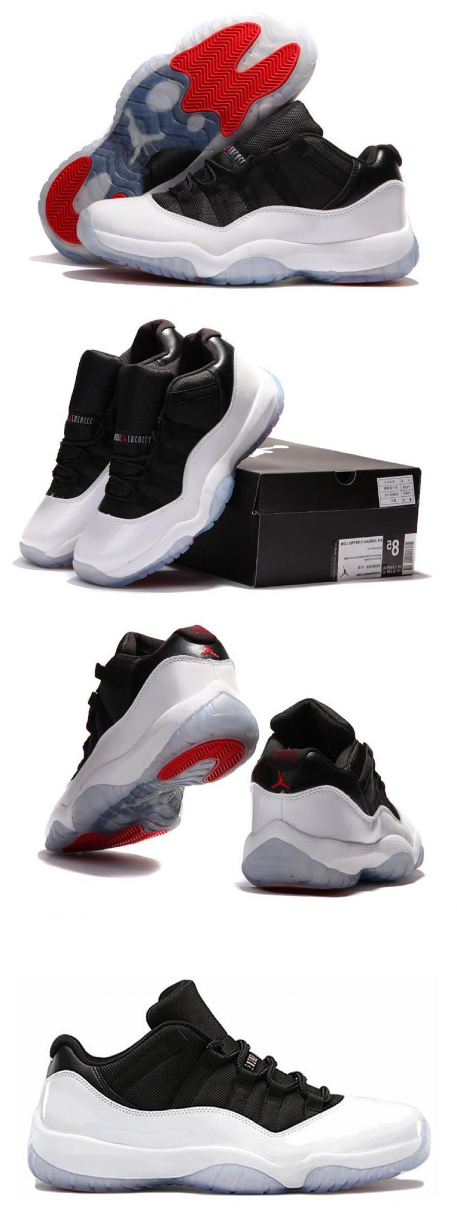 Air Jordan 11 Retro Low White/blacktrue Red in 2020