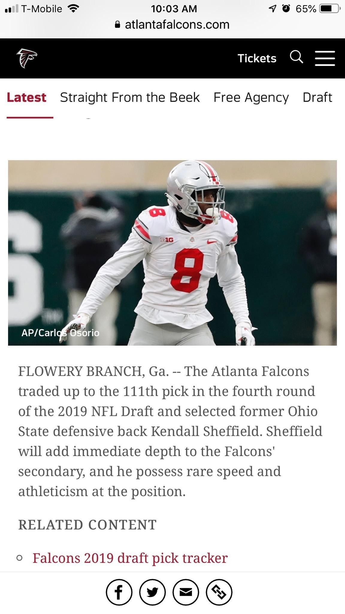 Pin By Sheila Sheffield On Kendall Defensive Back Nfl Draft Ohio State