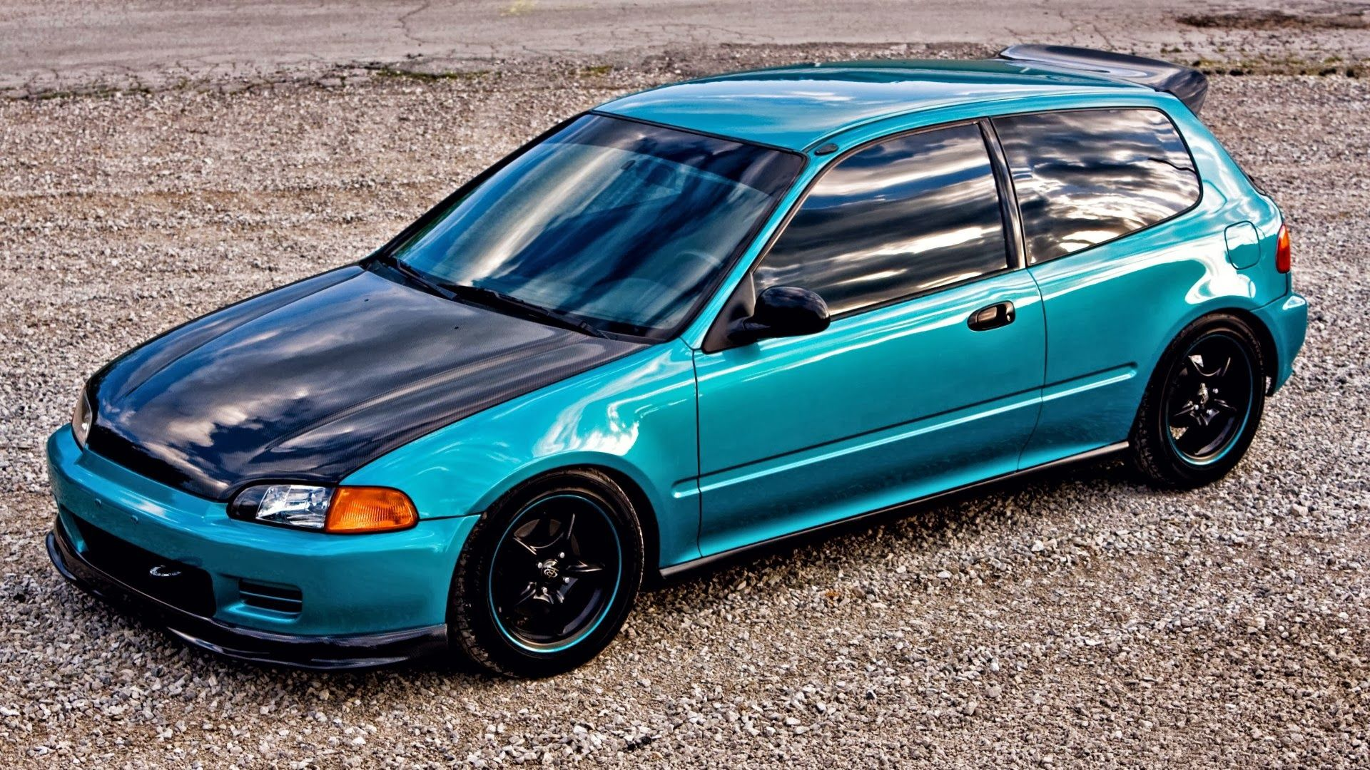 honda civic Honda civic vtec, Honda civic hatchback