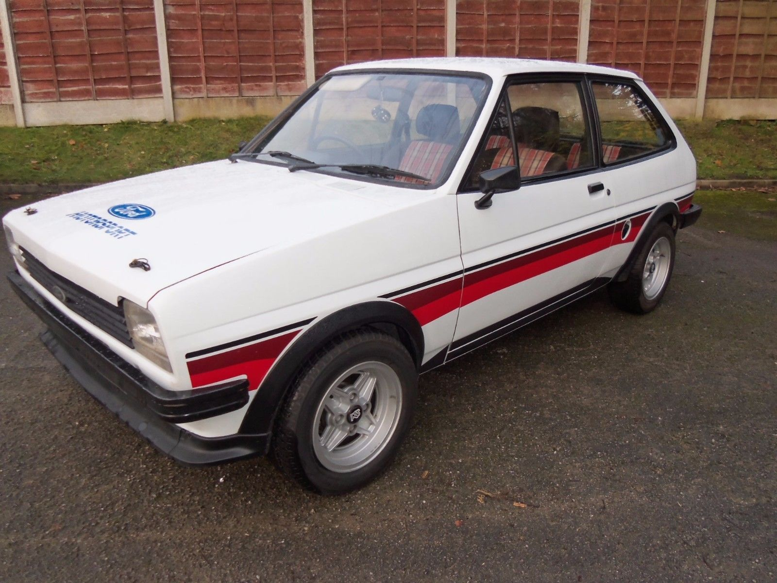 This ford fiesta supersport mk1 evocation, stunning looking 80s ...