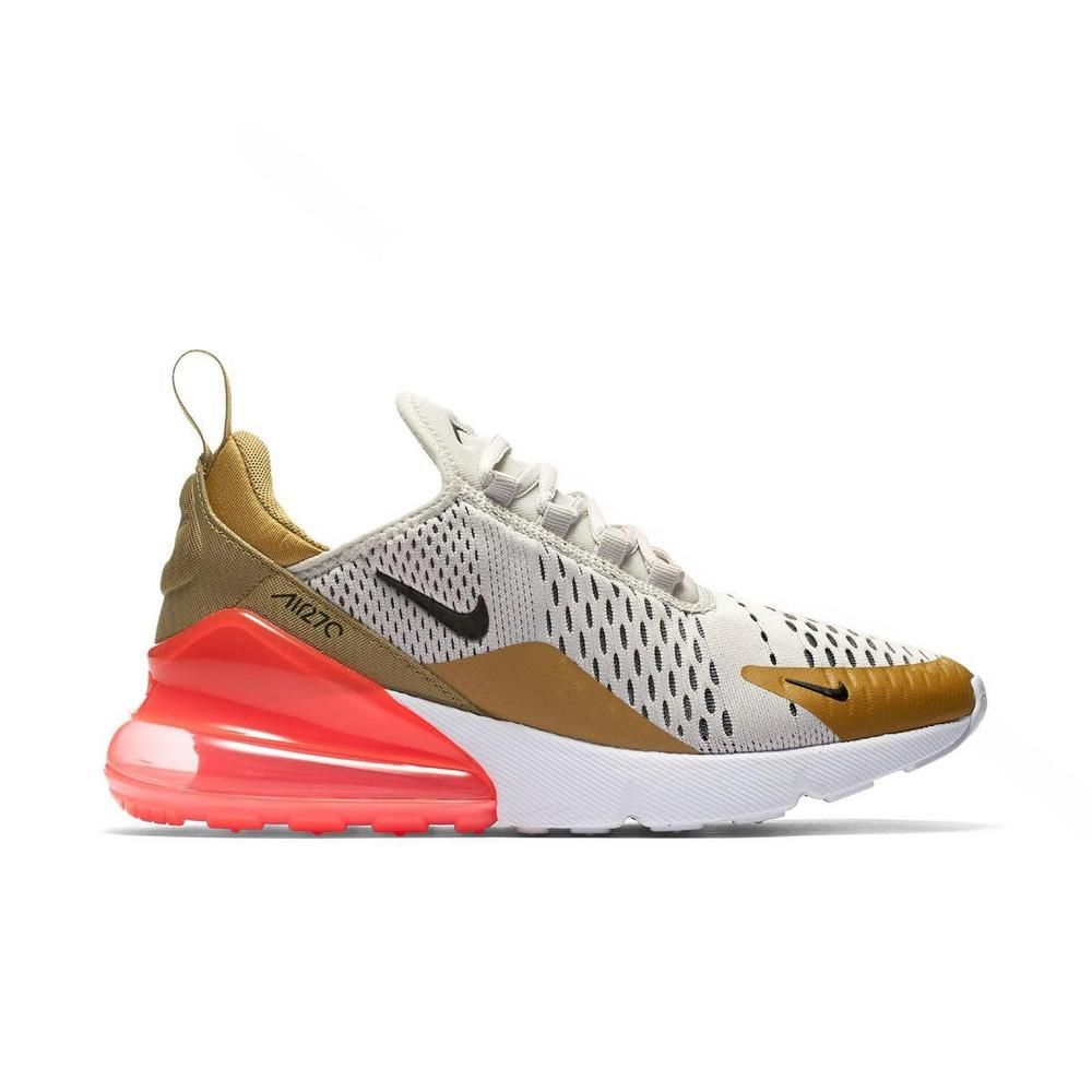 184fda73cc1a22 Nike Air Max 270 Flight Gold Womens AH6789-700 Size 5.5