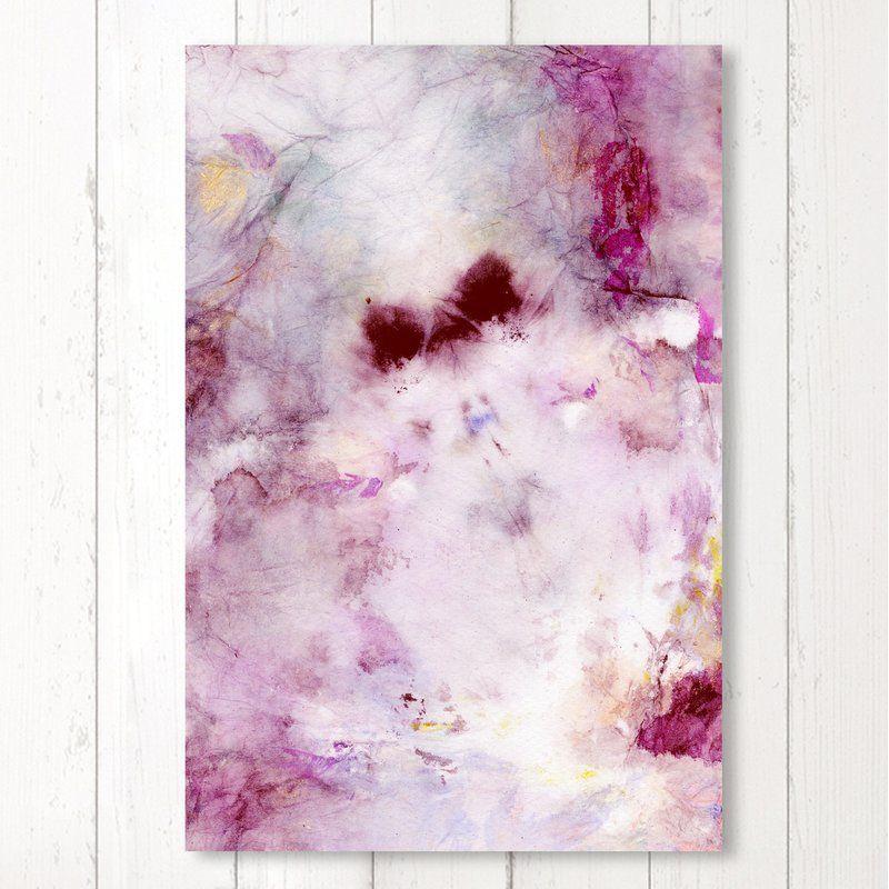 Tie Dye Beauty Graphic Art Print On Canvas Allmodern Art Canvas Prints Graphic Art