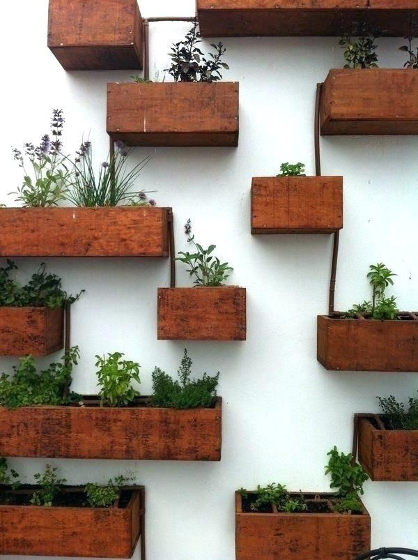 Indoor Window Garden Box Indoor Planter Box Indoor Window Planter Box Wall  Mounted Wooden Boxes Living
