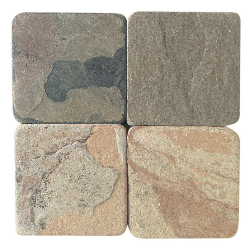 Slate Tile - 4x4 Indian Autumn | Slate, Tile stores and Online discount