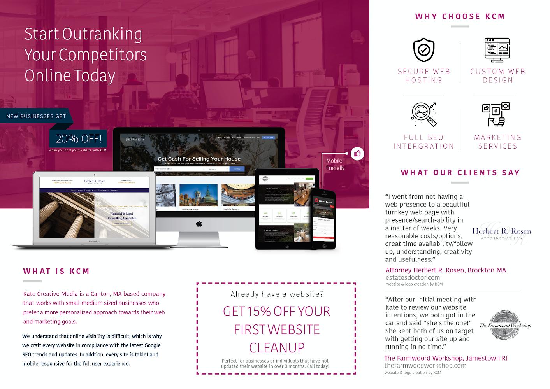 Kate Creative Media Canton Web Design Canton Seo Web Marketing Affordable Web Design Web Design Company
