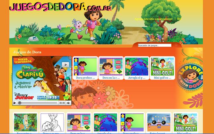 Pin de Webde Juegos en Juegos de Dora | Juegos, Disney y Golf