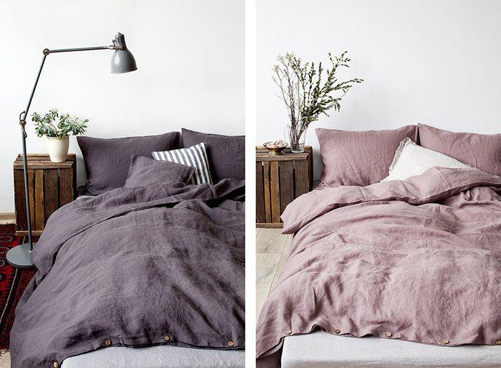 DECORAR CON LINO – INUK HOME blog   Dormitorio   Pinterest