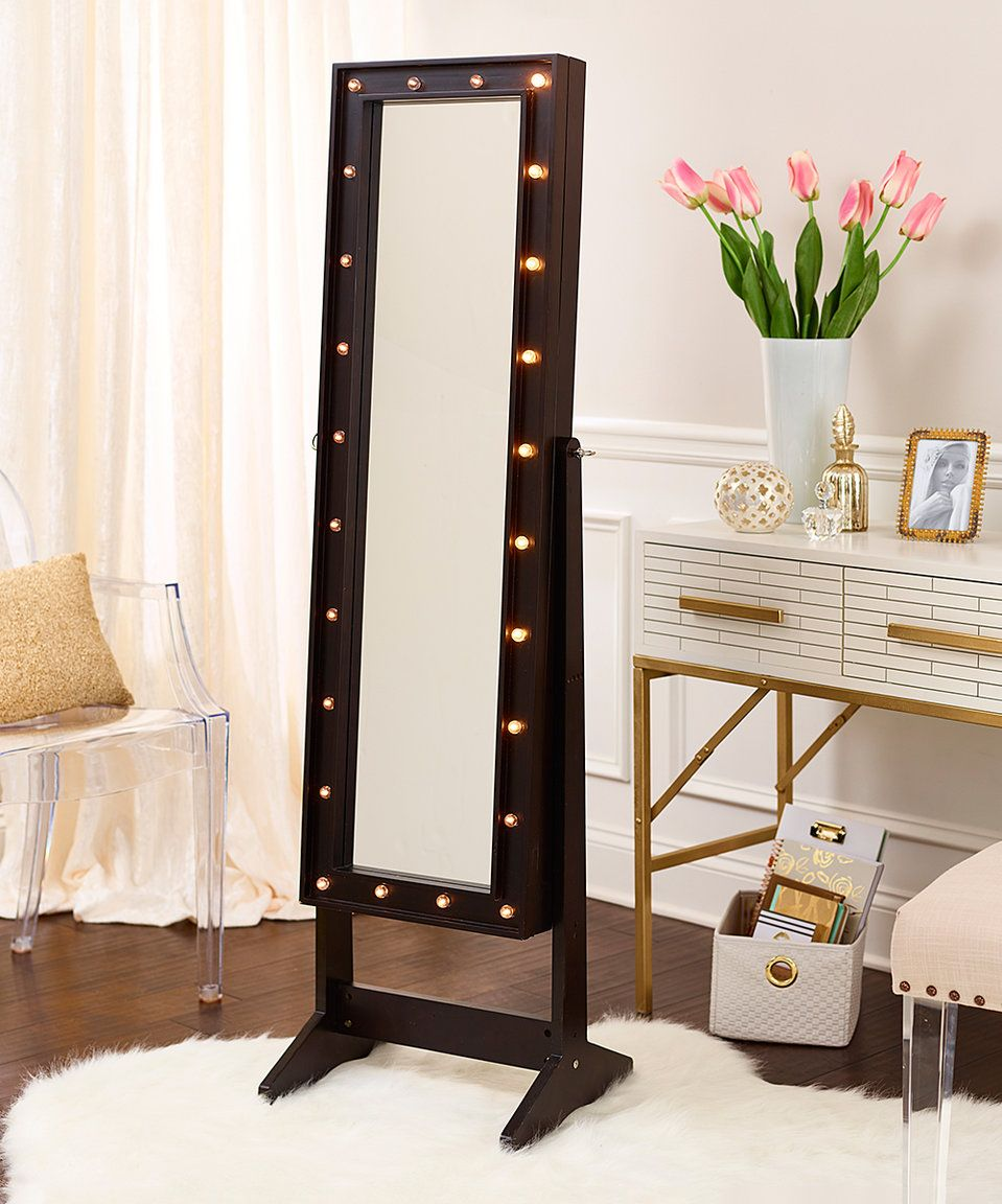 Ohhhh I need this Full length mirror with Hollywood lighting